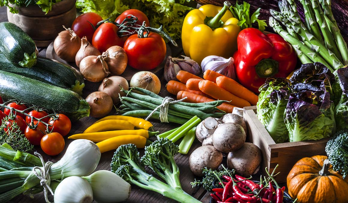 Verduras y hortalizas de otoño, ¡con recetas!