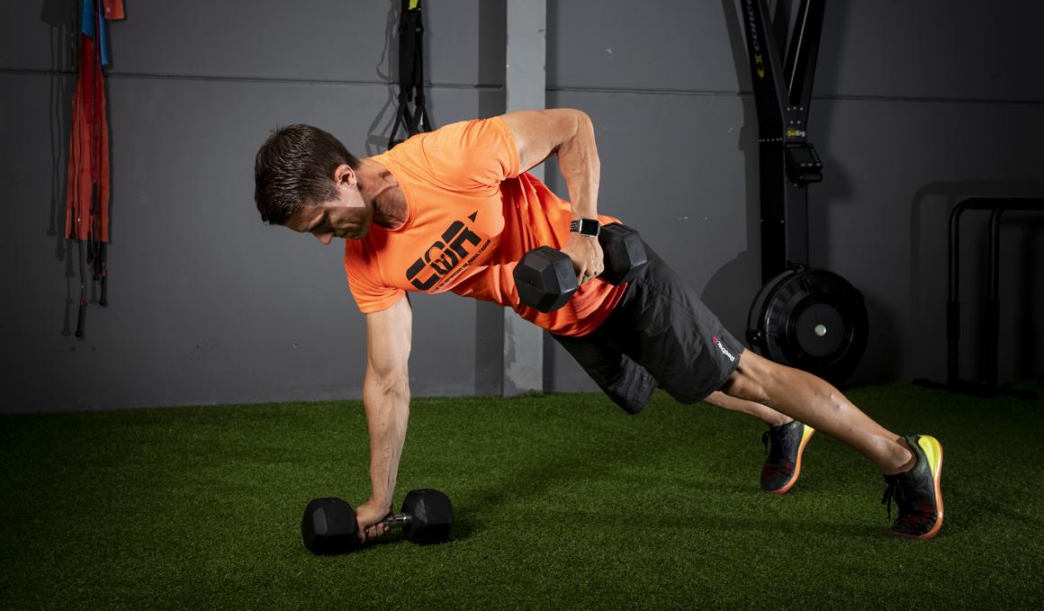 Un solo circuito de CrossFit para entrenar todo tu cuerpo, ¡vamos!