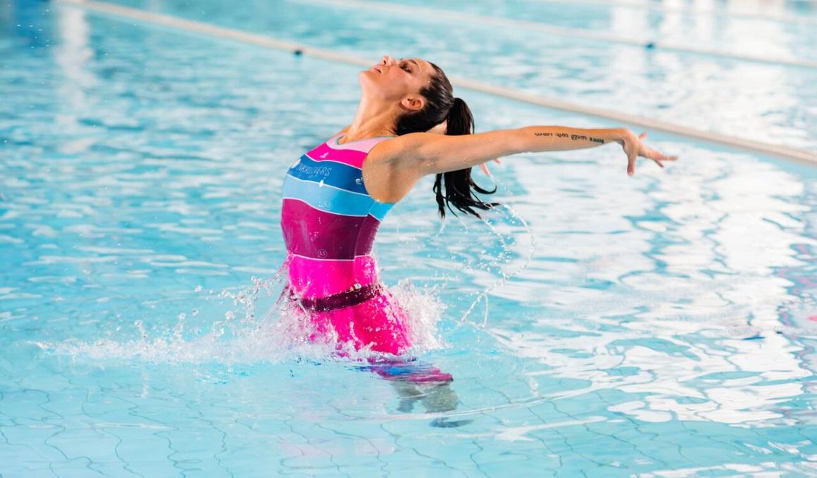 SunkroSkale Suit, la prenda de Andrea Fuentes para la natación sincronizada