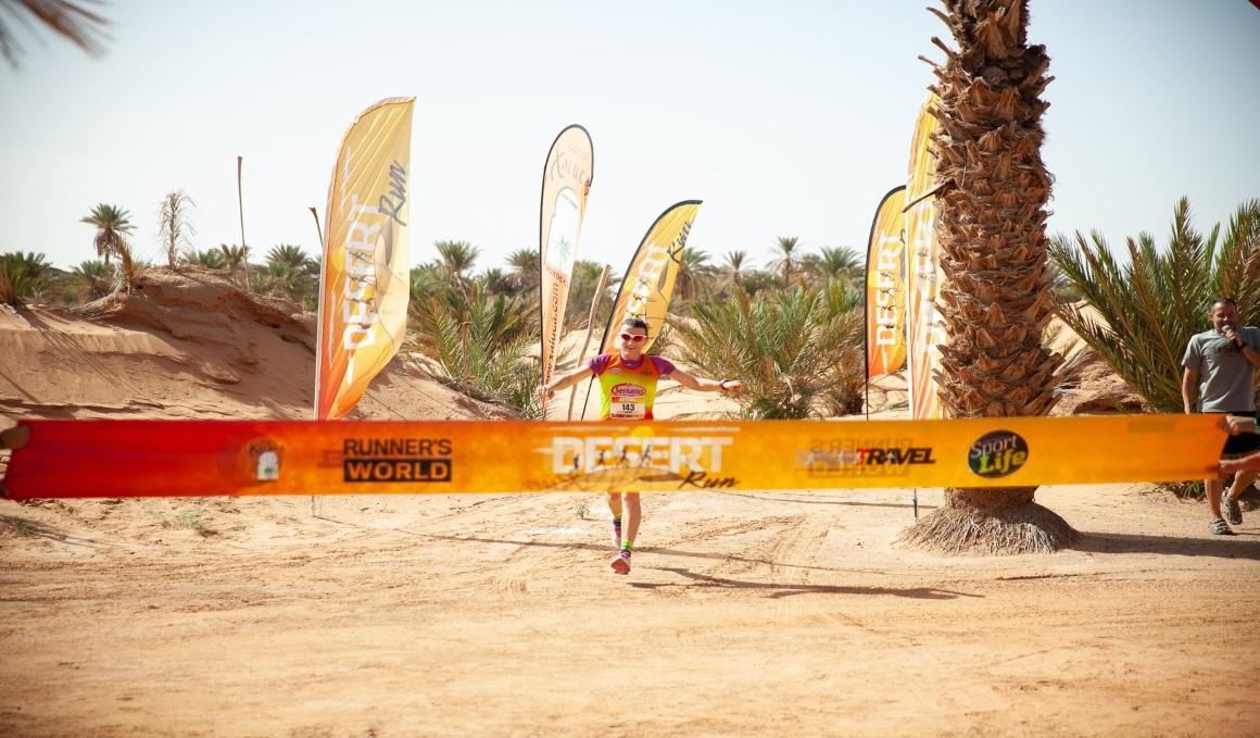 Davinia Albinyana y Oriol Ferré triunfan en la X Desert Run