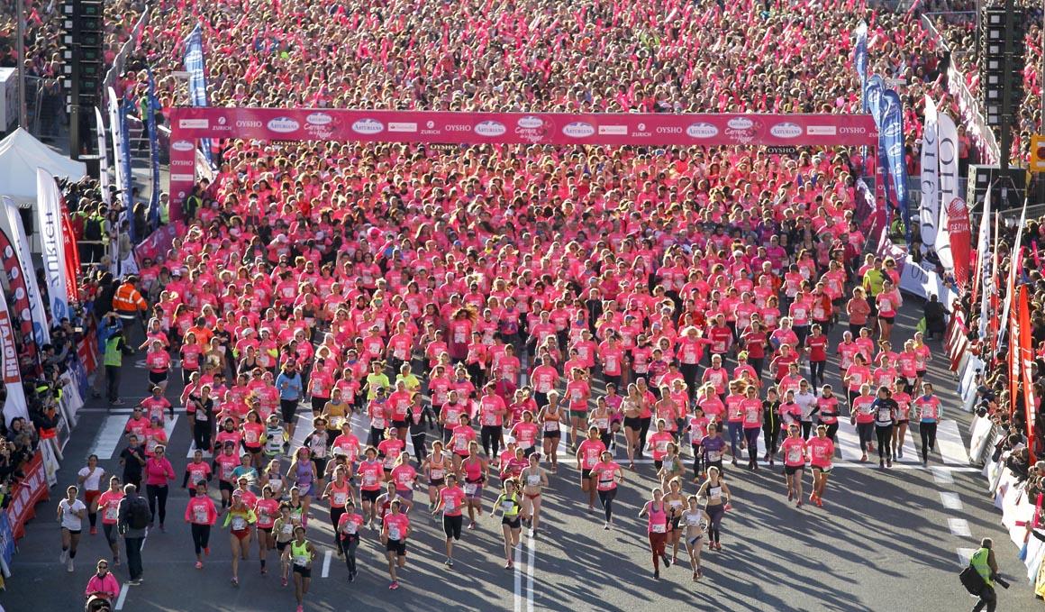 Agotadas las inscripciones para la Carrera de la Mujer de Barcelona