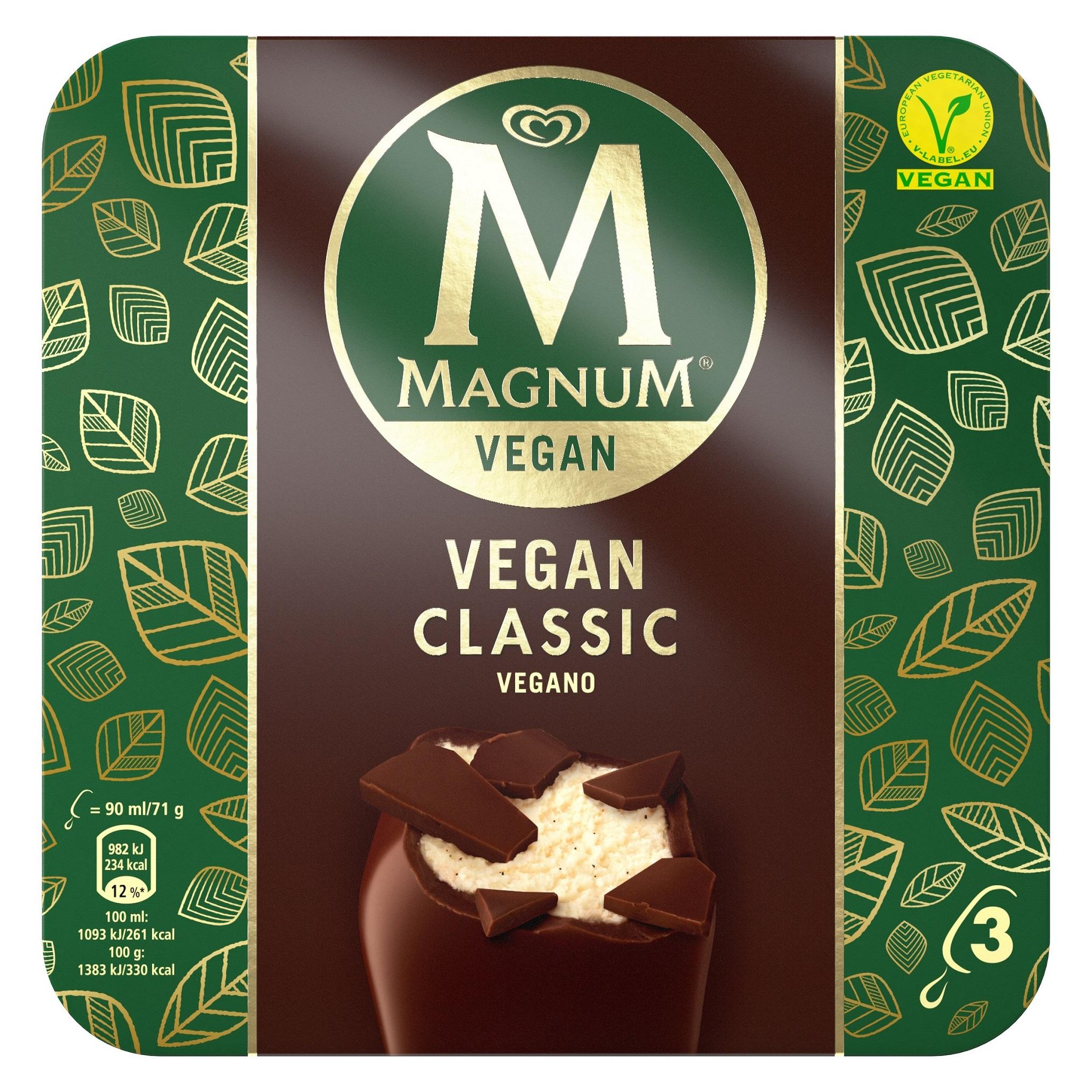 """Magnum se suma al movimiento """"veggie"""" con Magnum Vegan"""