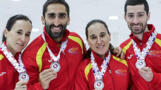 El deshielo: histórica medalla de plata en el Mundial curling para España