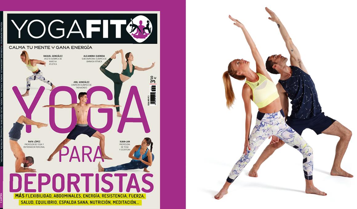 YogaFit 3, la guía de yoga para deportistas, ¡vuelve al quiosco!