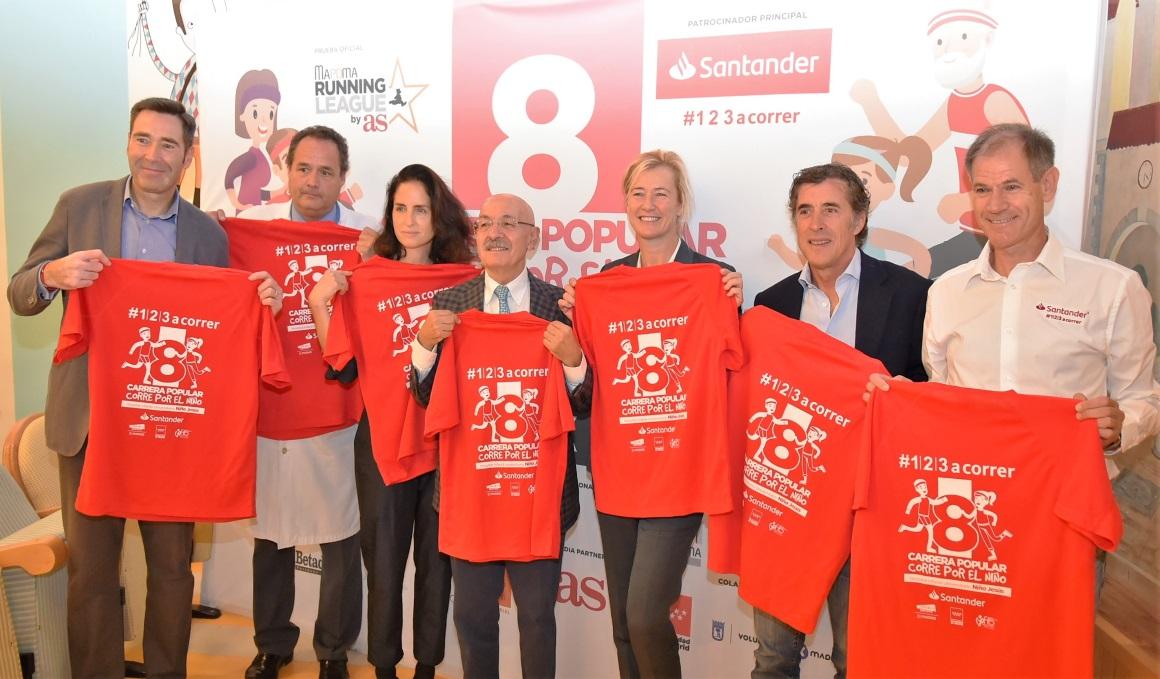 La carrera solidaria Corre por el Niño espera 11000 inscritos