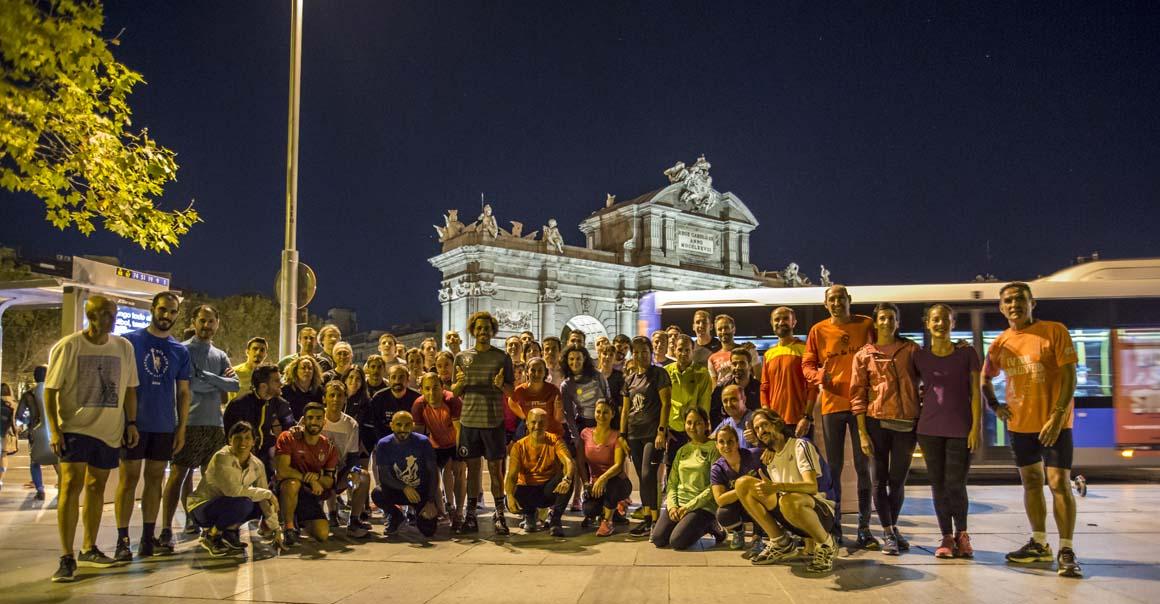 Así fue el entrenamiento de New Balance para el Maratón de Nueva York en Madrid