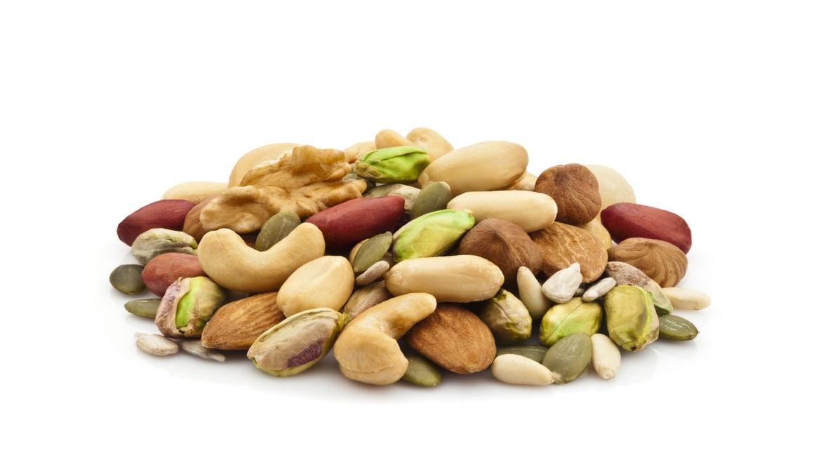 Frutos secos, grasas saludables para los deportistas