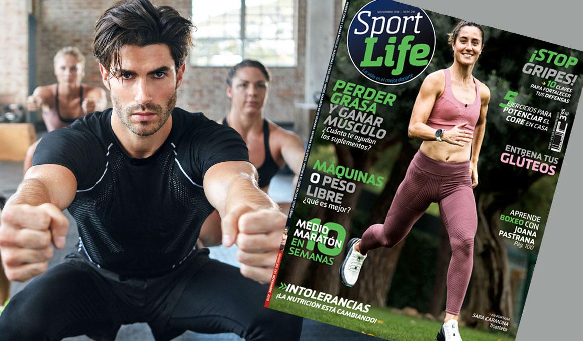 Sport Life de noviembre ya está en quiosco y trae en portada a la triatleta Sara Carmona