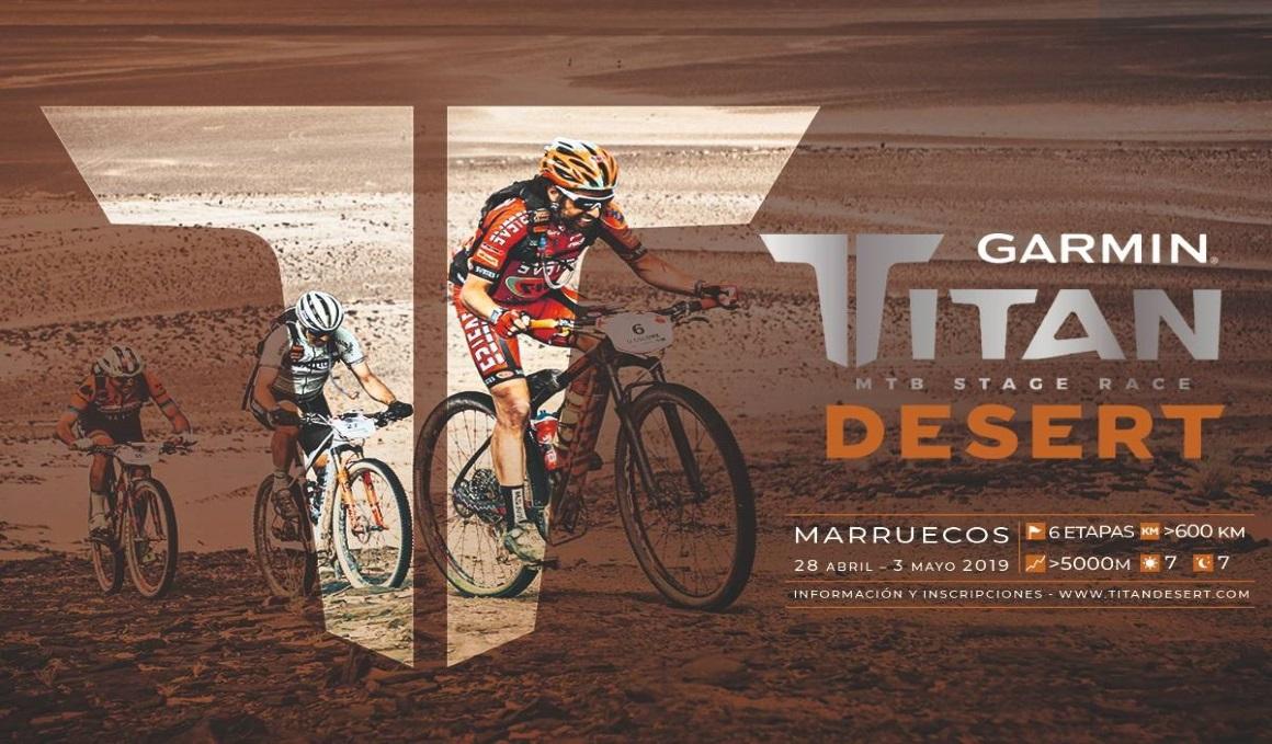 ¿Quieres ir a la Titán Desert en equipo femenino y solidario en el 2019?