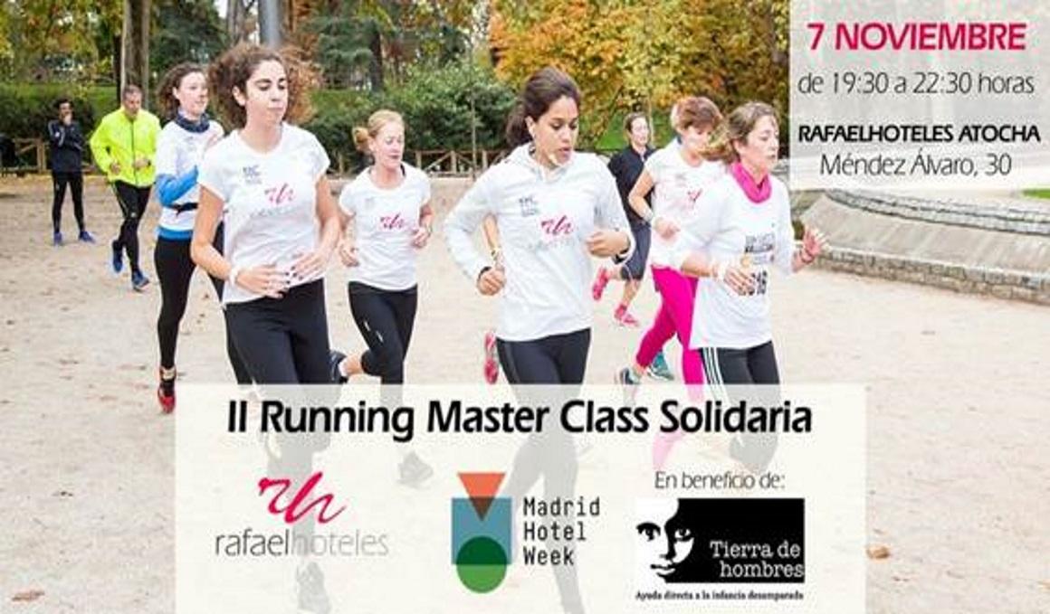 La II edición de la Running Masterclass Solidaria se celebrará el 7 de noviembre
