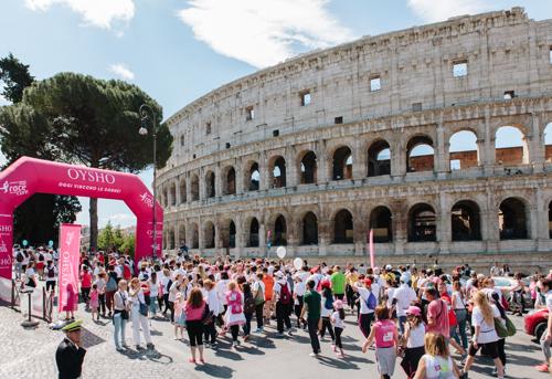 Gana un viaje para dos personas a la Carrera de la Mujer de Roma