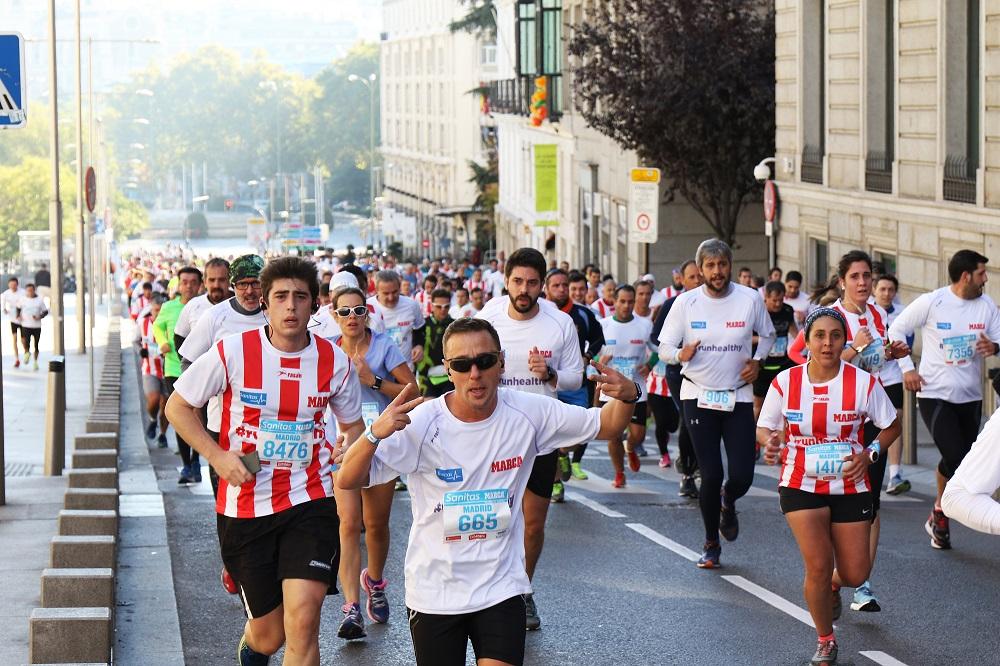 ¿Corren más los del Atleti o los del Real Madrid?