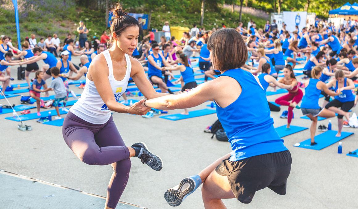 YogaRun, el evento que aúna yoga y running, llega ahora a Barcelona