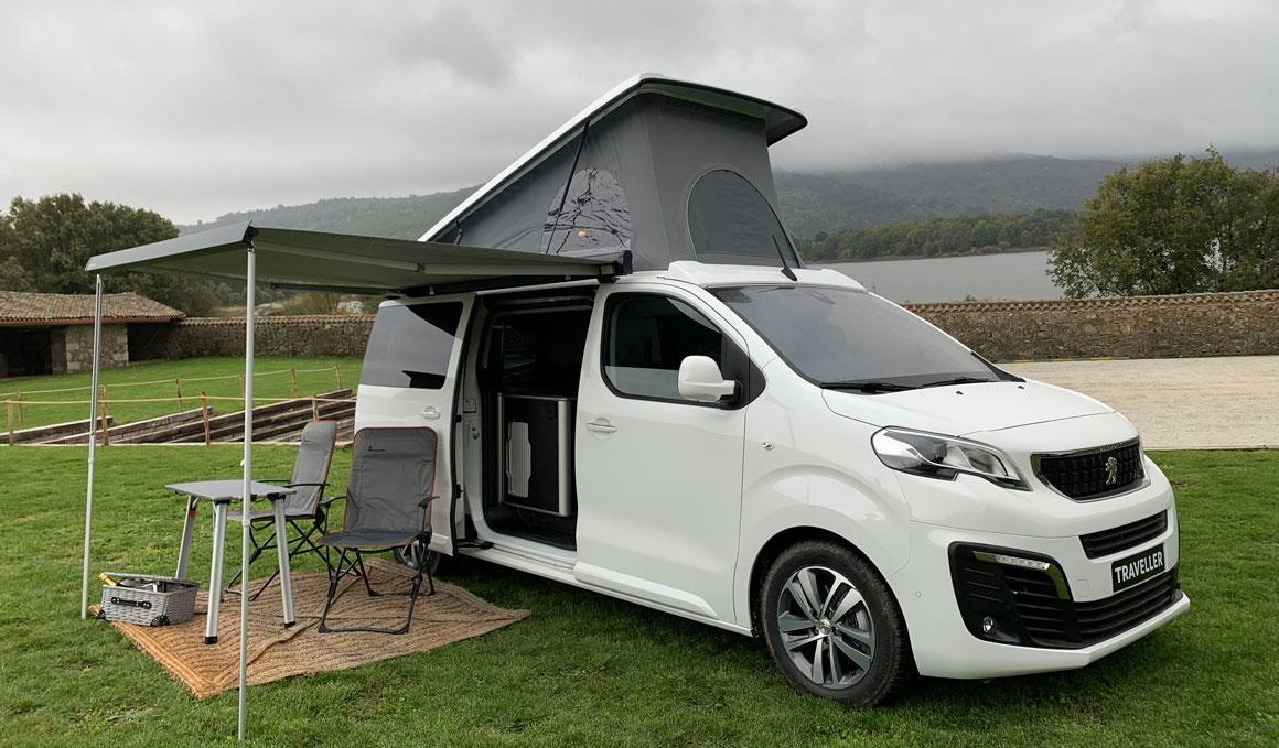 El sueño de todo deportista aventurero: Peugeot Traveller y Rifter 'camperizados'