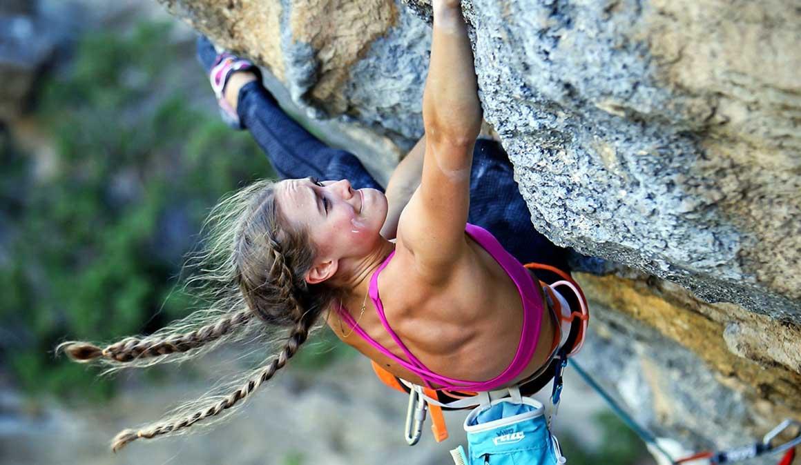 Entrevistando a Margo Hayes, escaladora y yoguini