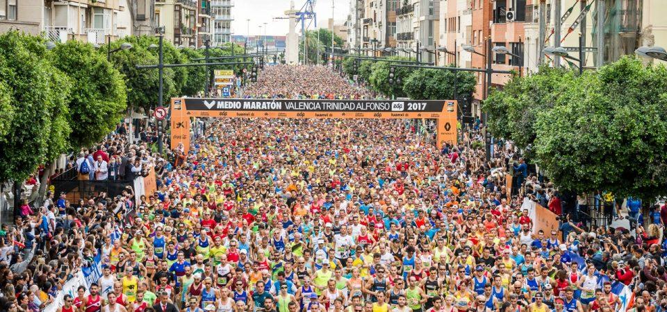 40 corredores sancionados 4 años sin poder correr el Medio Maratón de Valencia por ceder el dorsal a otro