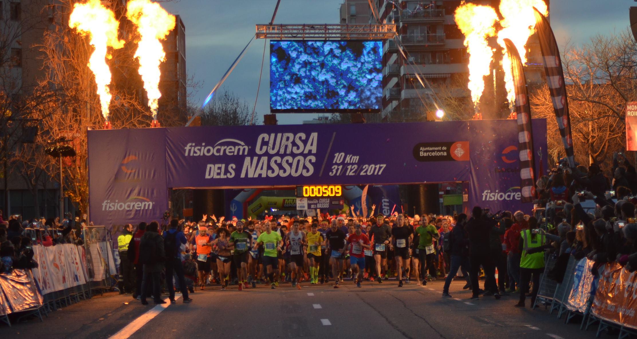 ¡Corre en Nochevieja en Barcelona!