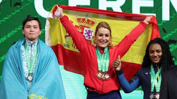¡Lydia Valentín doble campeona del mundo!