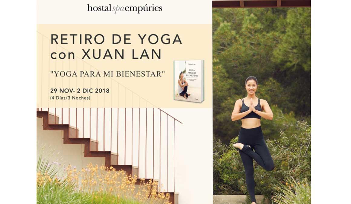 Retiro de yoga con Xuan Lan en la Costa Brava