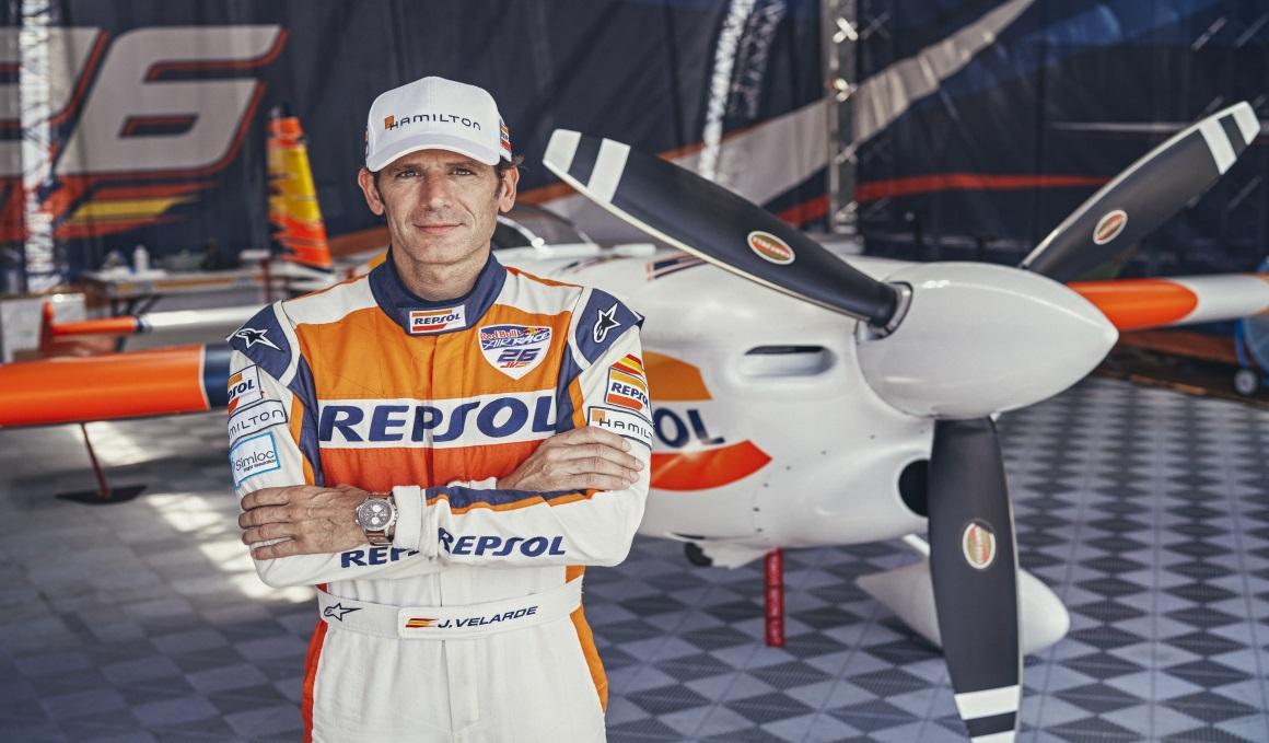 Juan Velarde y la Red Bull Air Race