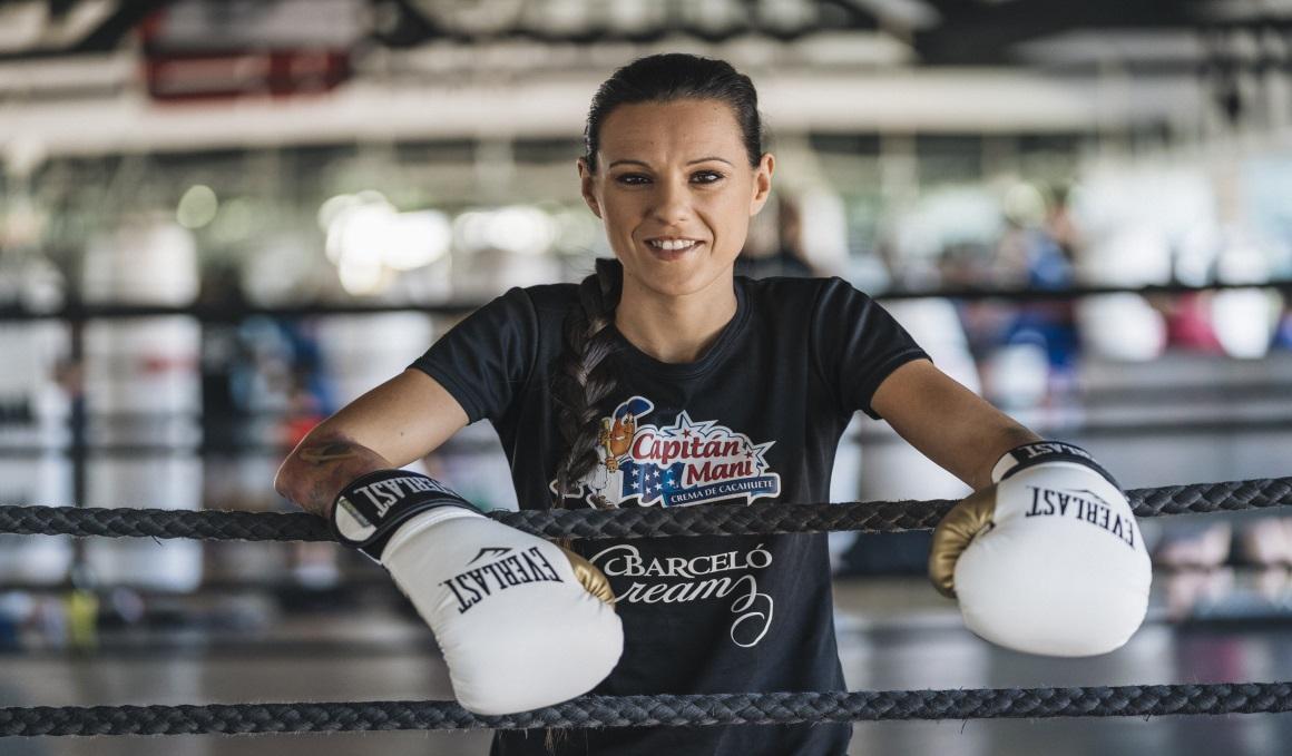 Una masterclass de boxeo con Joana Pastrana