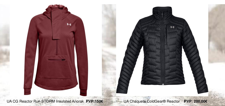 Las nuevas chaquetas de running de Under Armour para corredoras