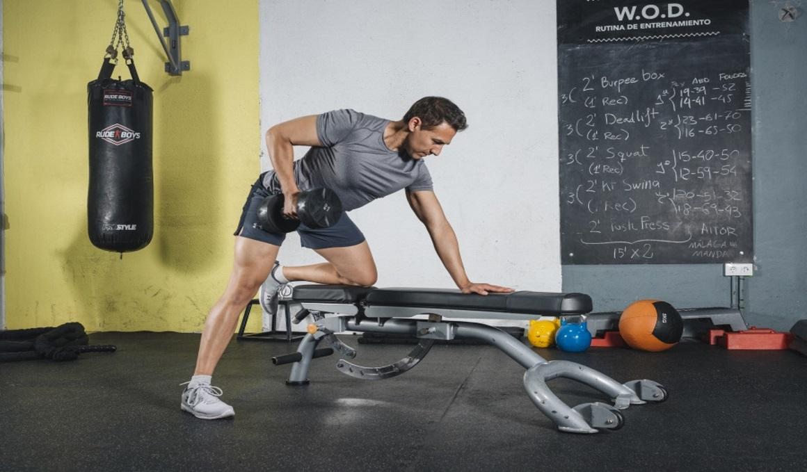 7 ejercicios de musculación para evitar la chepa