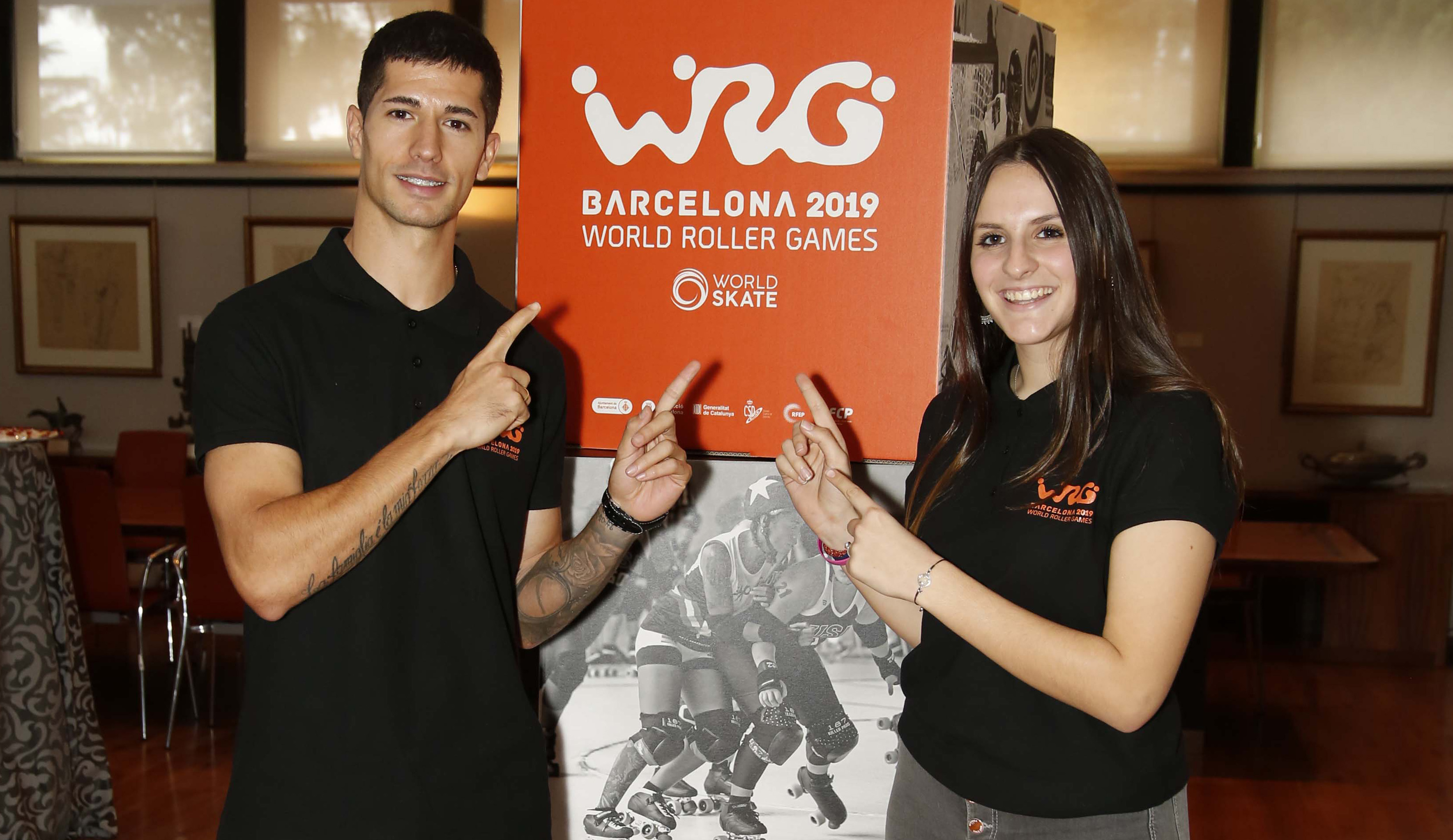 Presentados los World Roller Games Barcelona 2019