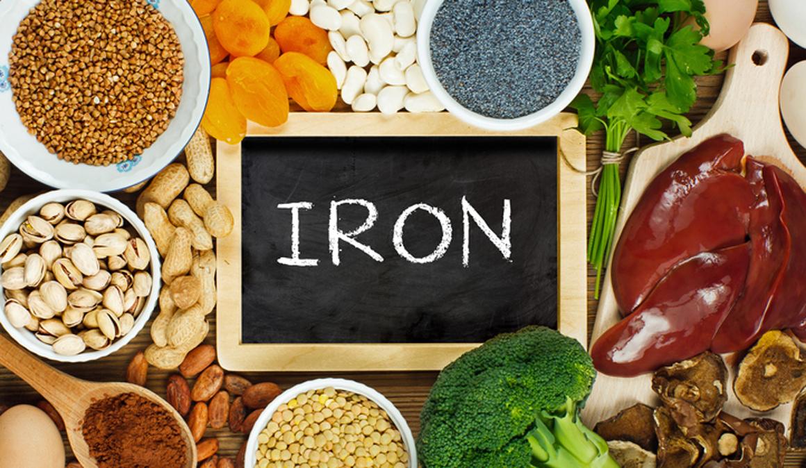 Lista de los alimentos más ricos en hierro