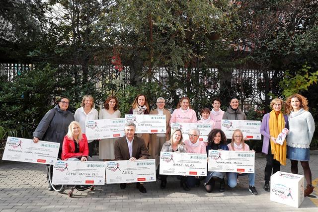 La Carrera de la Mujer supera el millón de euros destinados a causas solidarias