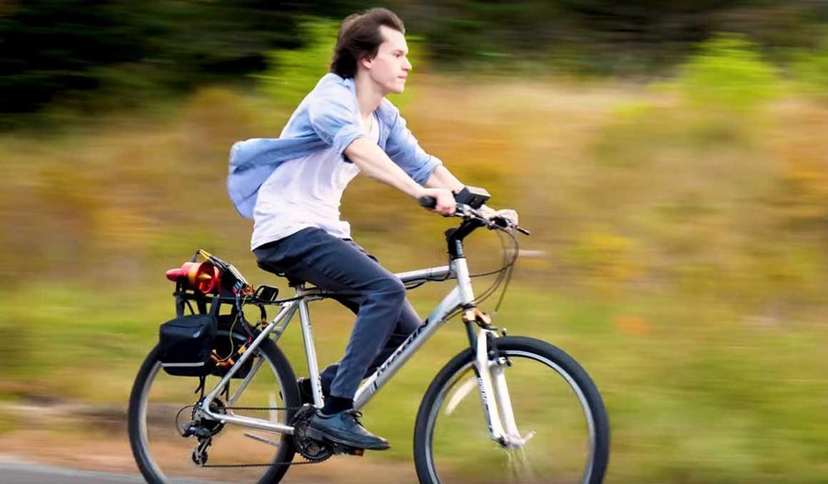 La e-bike que funciona a reacción