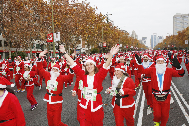 Mañana a las 20 horas se cierran las inscripciones para la Carrera de Papá Noel