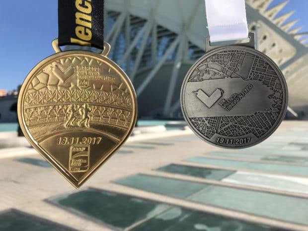 ¿Cuánto vale el kilo de medalla de finisher?