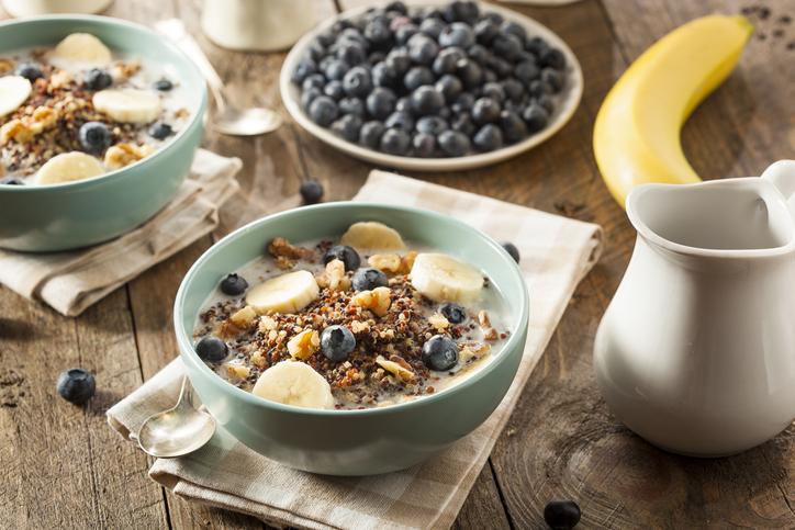 5 alimentos ricos en fibra para tomar en el desayuno