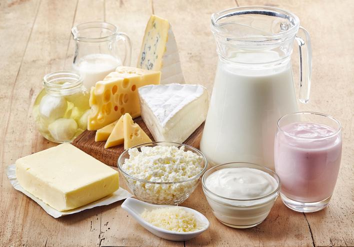 5 alimentos ricos en calcio para desayunar