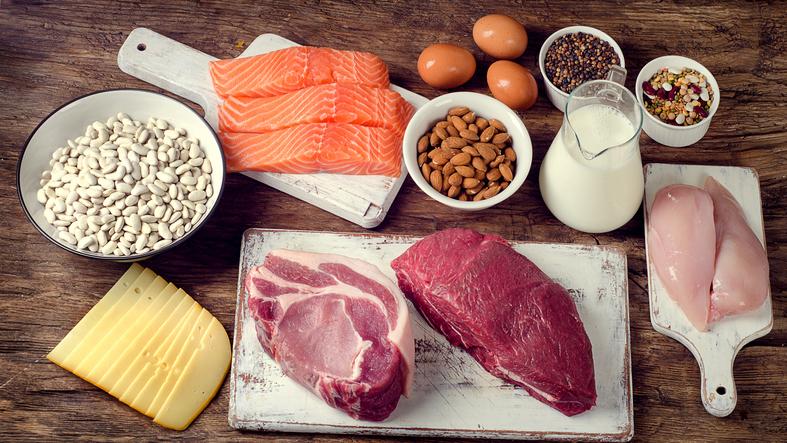 La lista de los alimentos más proteicos y con bajo contenido en grasas