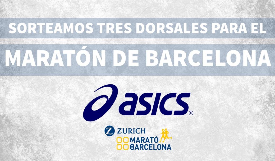 ¡Corre el Zurich Maratón de Barcelona con Asics!