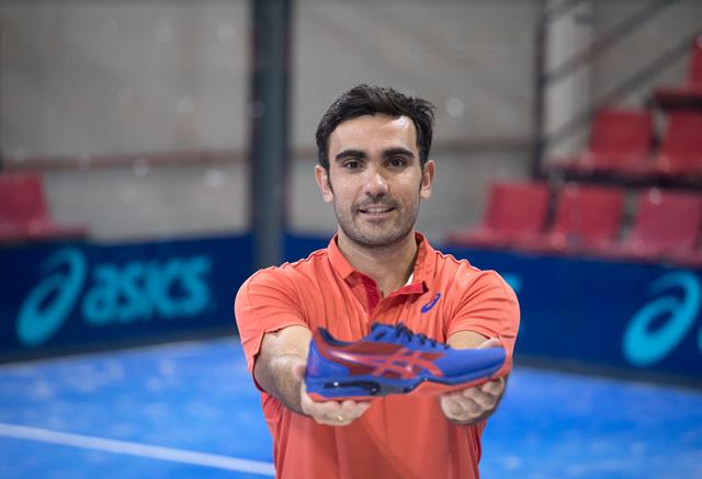 Las nuevas zapatillas de Pablo Lima