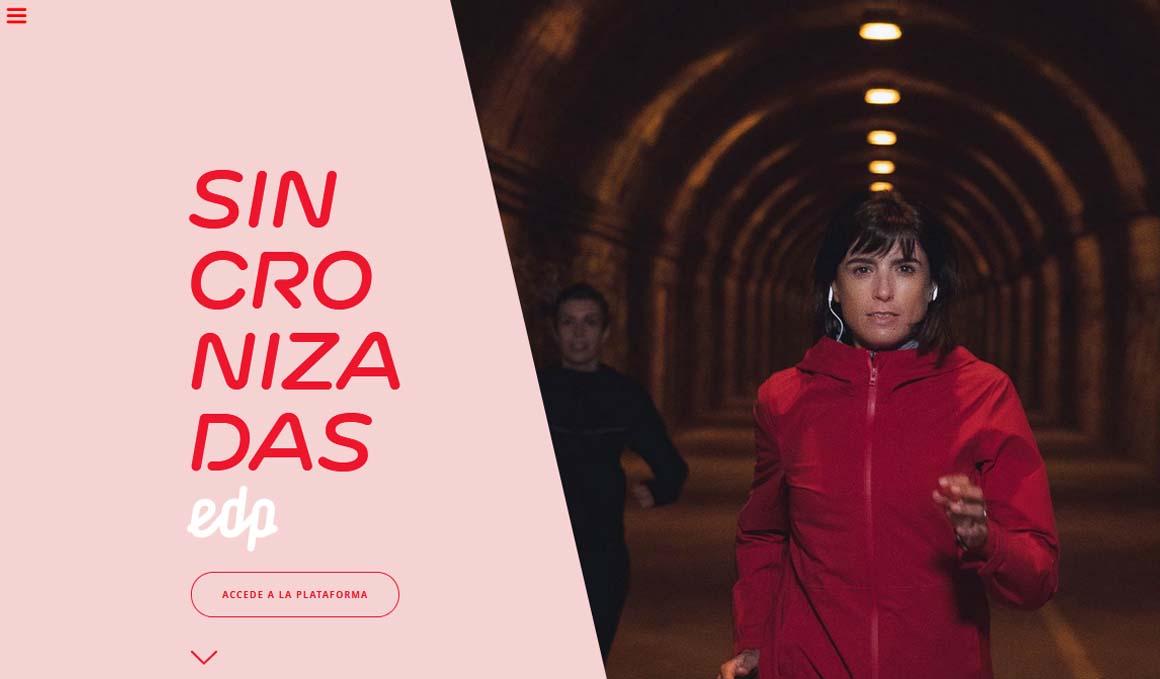 Sincronizadas, la plataforma de EDP para organizar quedadas para corredoras