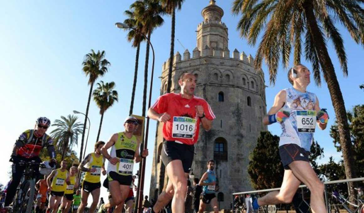 Este es el nuevo recorrido del Zurich Maratón de Sevilla