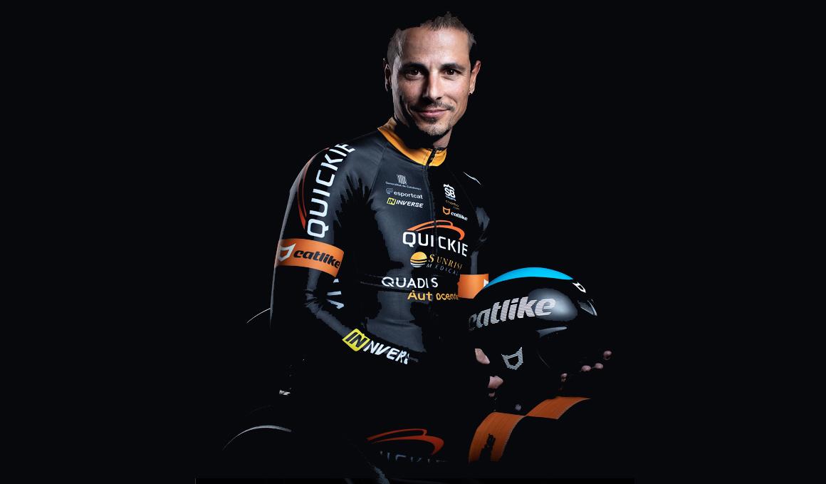 """Sergio Garrote: """"Tuvo que pasar para que yo pudiera sacar lo mejor de mí en el ciclismo profesional"""""""