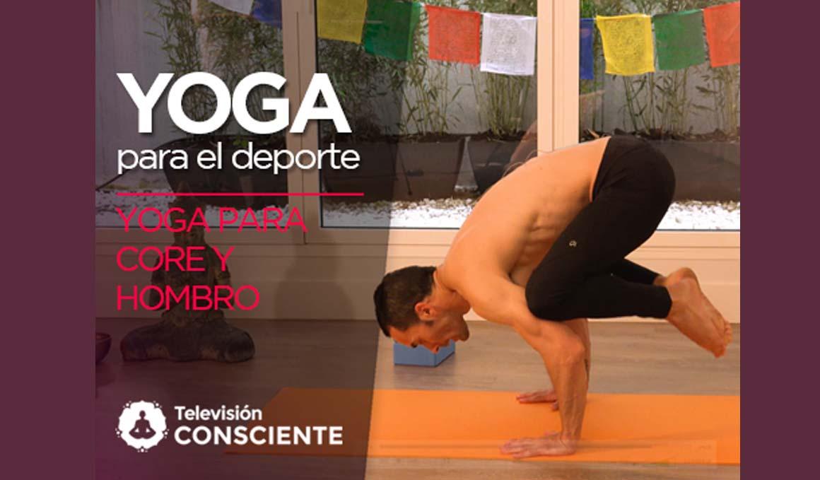 Secuencia de yoga en vídeo para fortalecer el core