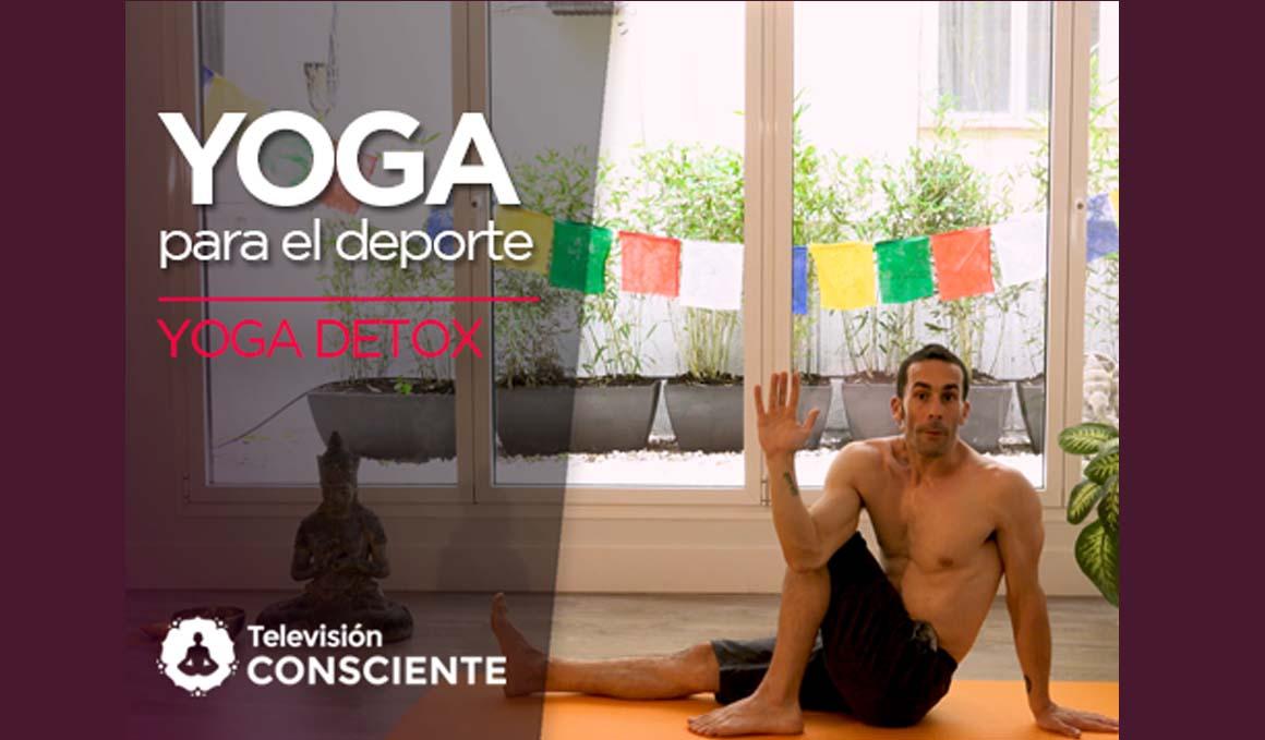 Secuencia de yoga detox en vídeo