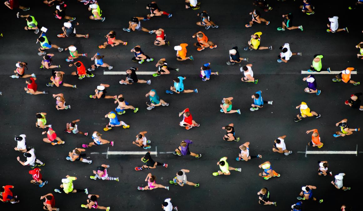 Un estudio americano encuentra que los maratonianos tienen menos artritis que las personas que no corren