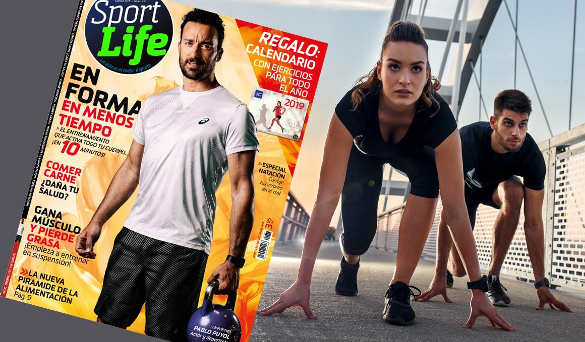 ¡La primera revista Sport Life de 2019 ya está en quiosco!
