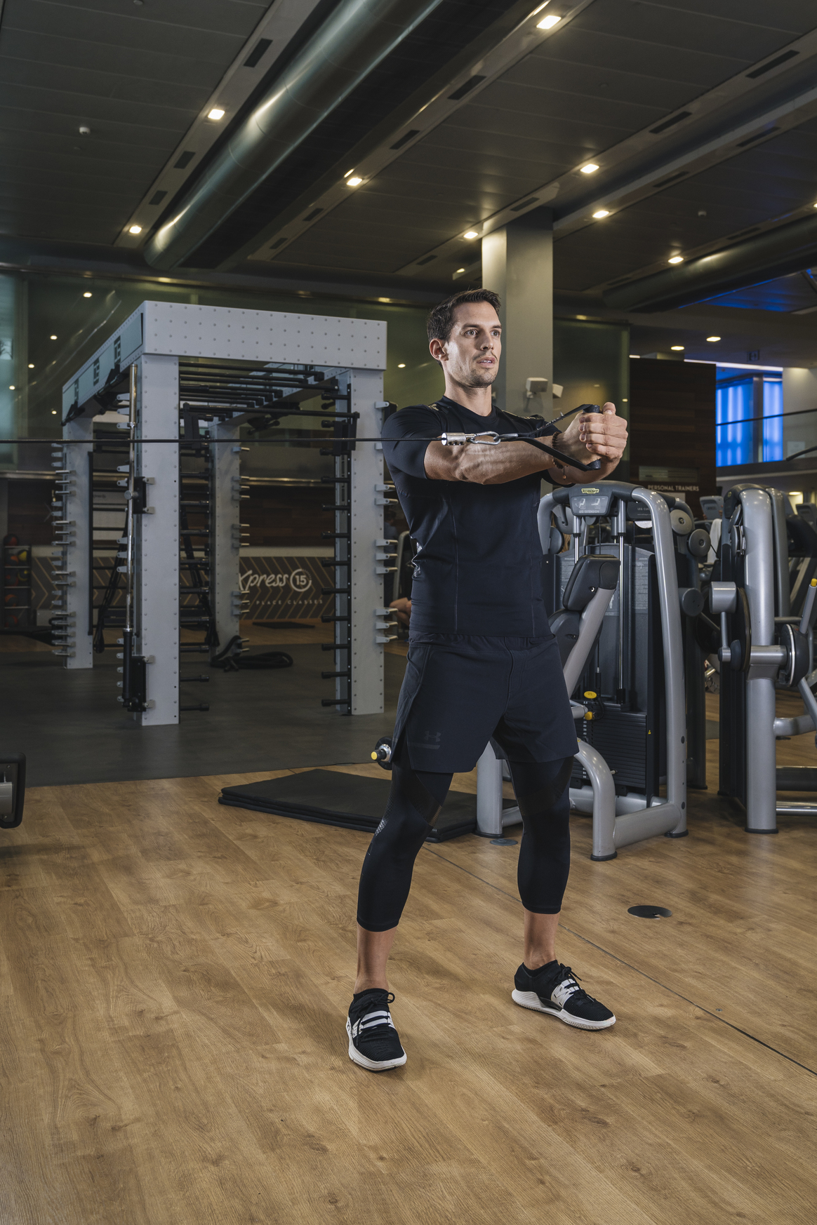 Press pallof, trabaja tu core y reduce cintura al mismo tiempo.