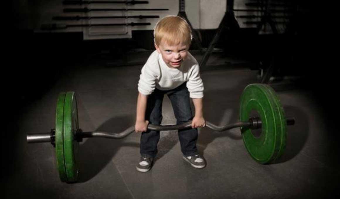 Fuerza en niños y adolescentes...¡imprescindible!