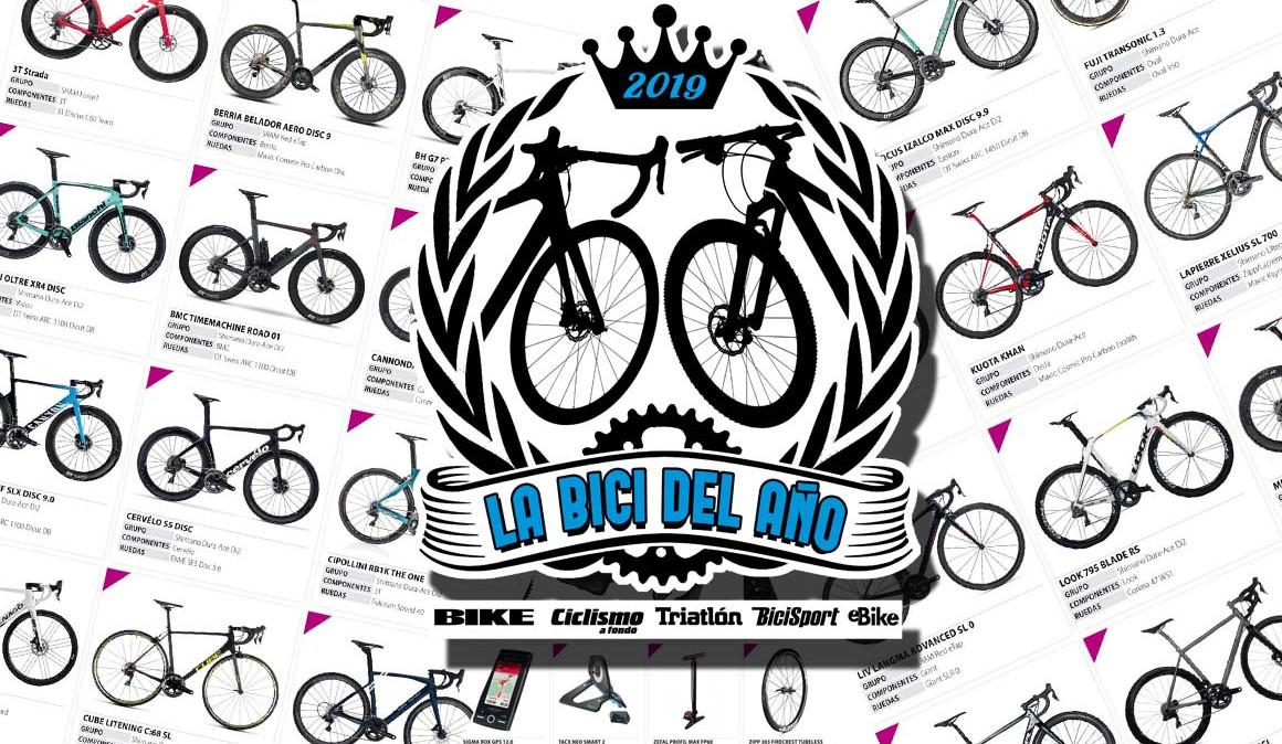 ¿Te gustan las bicis? ¡Vota las mejores de 2019 y llévate un montón de premios!