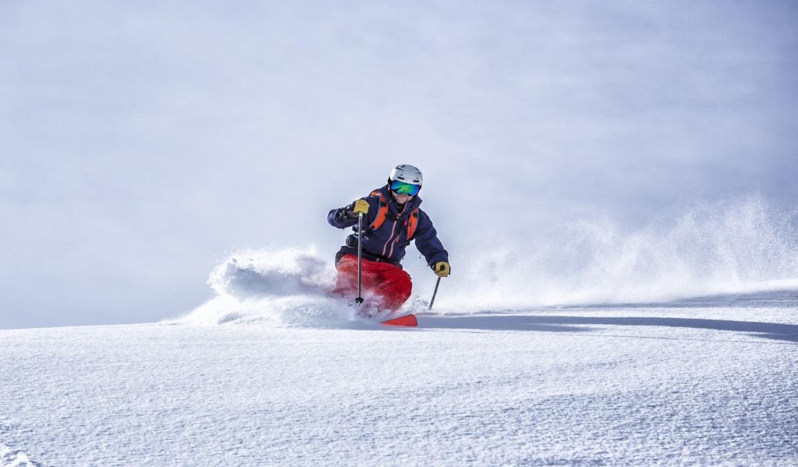 Cómo debes empezar para evitar las lesiones esquiando