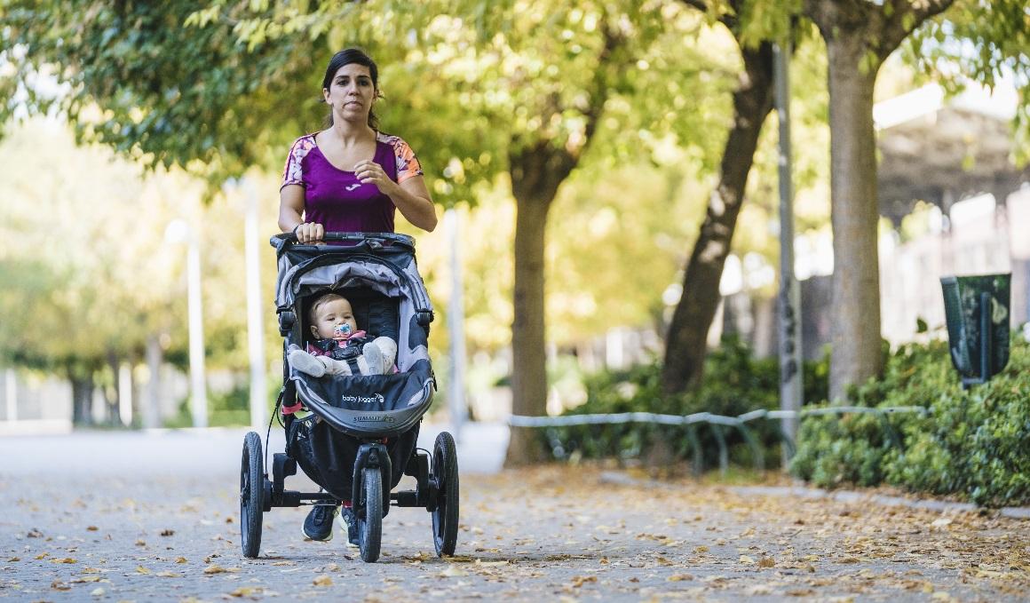 Cómo correr con tu bebé